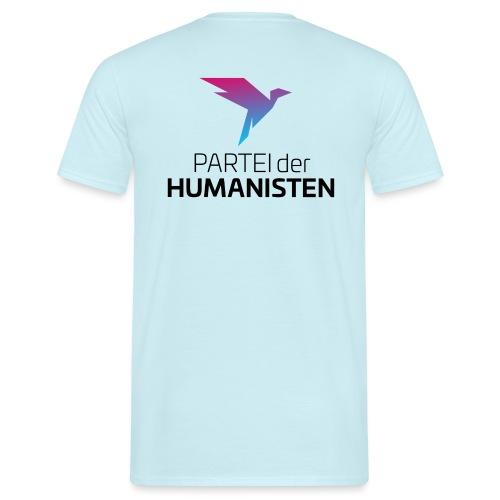Statement Logo beidseitig - Männer T-Shirt