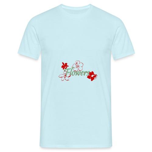 Flowers - Männer T-Shirt