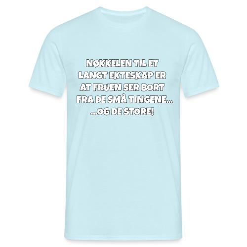 Ekteskap - T-skjorte for menn