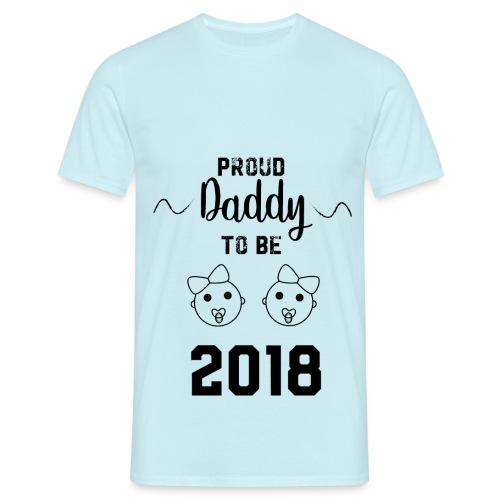 Daddy twins - Camiseta hombre
