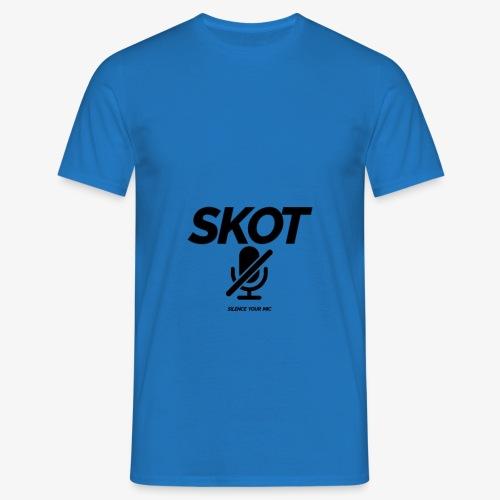 SKOT - Silence Your Mic - Mannen T-shirt