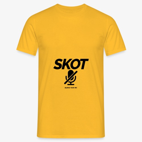 SKOT - Silence Your Mic - Mannen T-shirt