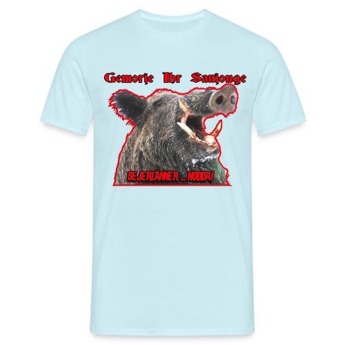Sejerlaenner Saujong png - Männer T-Shirt