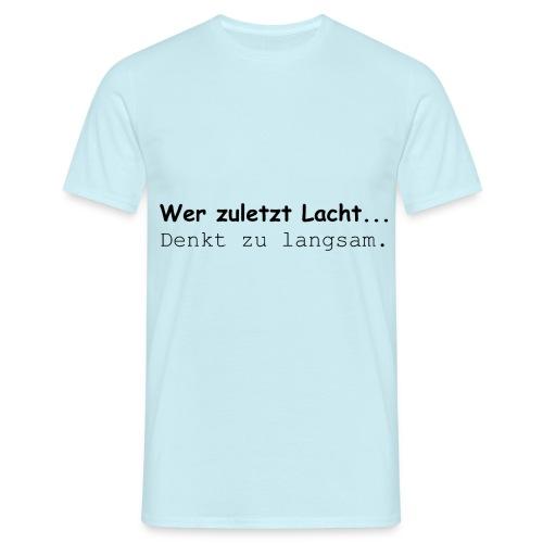 Gemeinsam Lachen - Männer T-Shirt