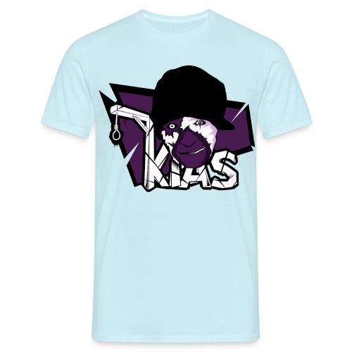 KIAS SHIRT2 lila png - Männer T-Shirt