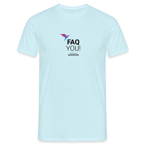 FAQ YOU! - Männer T-Shirt