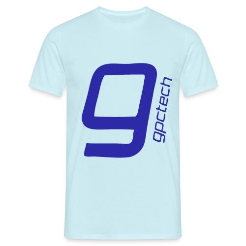 FINAL trans fill blue - Men's T-Shirt