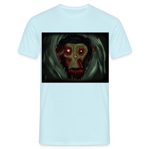 Zombie Monkey - Men's T-Shirt