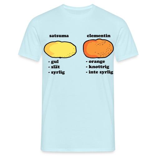 Mvh Citruskännaren - T-shirt herr
