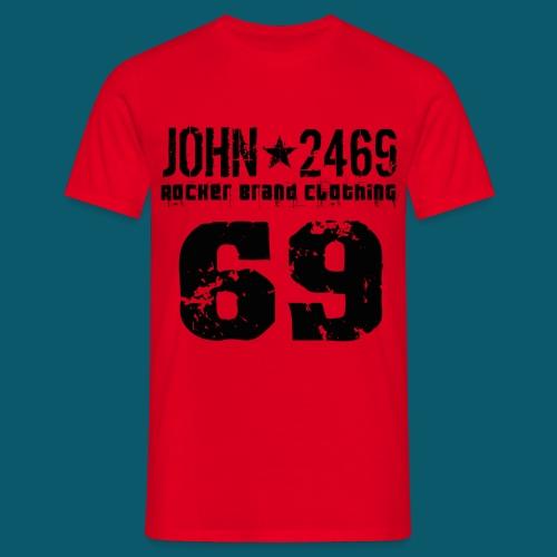 john 2469 numero trasp per spread nero PNG - Maglietta da uomo