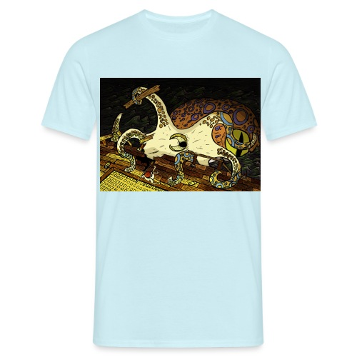 be the octopus - Men's T-Shirt