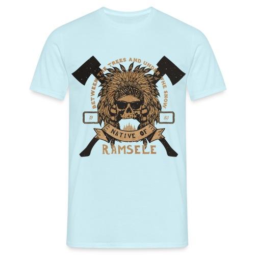 Indian - T-shirt herr