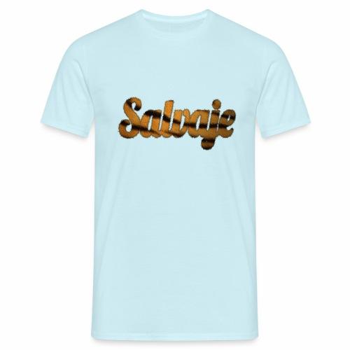 Modo salvaje - Camiseta hombre