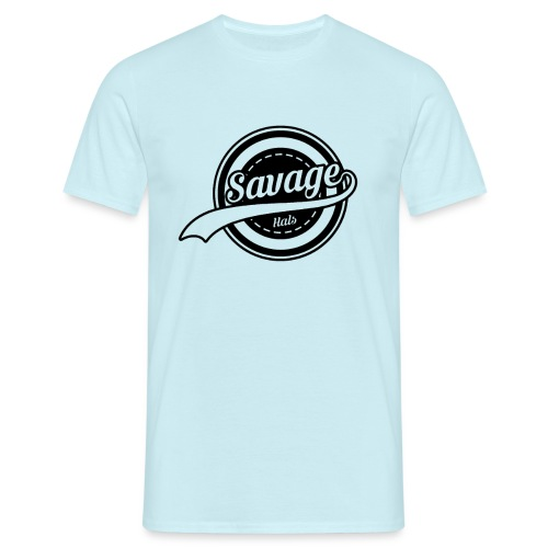 Savage Hals Balck Logo - Men's T-Shirt