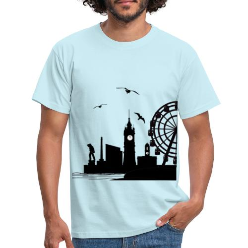 Silhouette of Margate - Men's T-Shirt