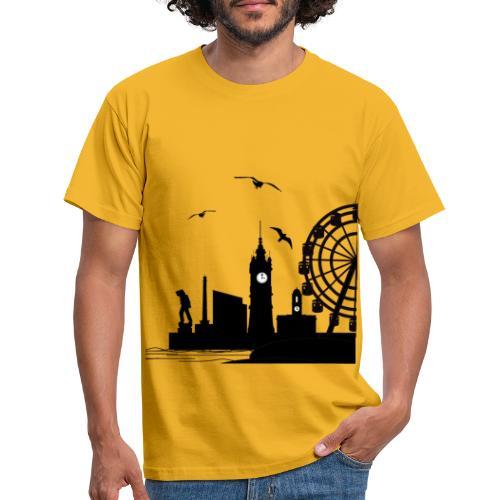 Silhouette of Margate - Men's T-Shirt