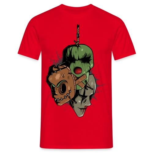 Vintage Masks - Männer T-Shirt