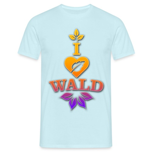 ilovewald_shirt - Männer T-Shirt