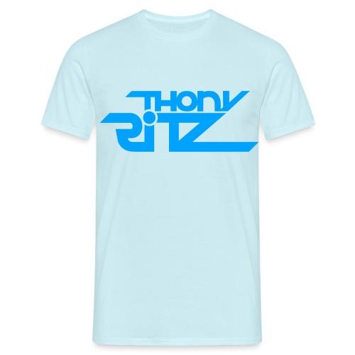 TR Logo Blue - T-shirt Homme