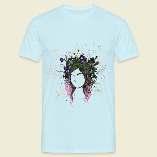 flower crown - Men's T-Shirt