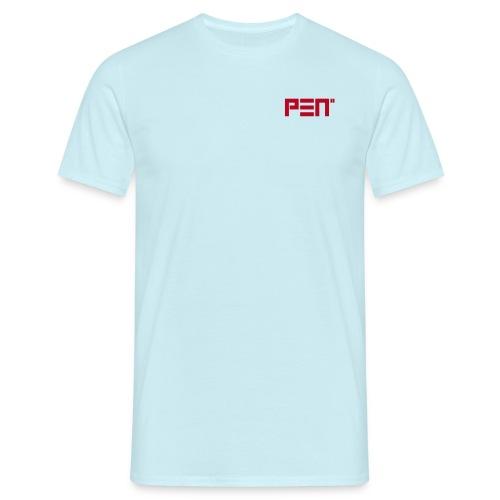 pen2logoohneclaim - Männer T-Shirt