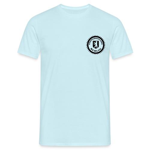 ESU Logo schwarz - Männer T-Shirt