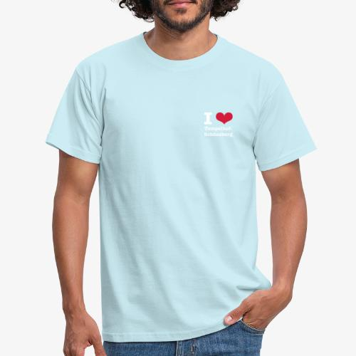 I love Tempelhof-Schöneberg - Männer T-Shirt