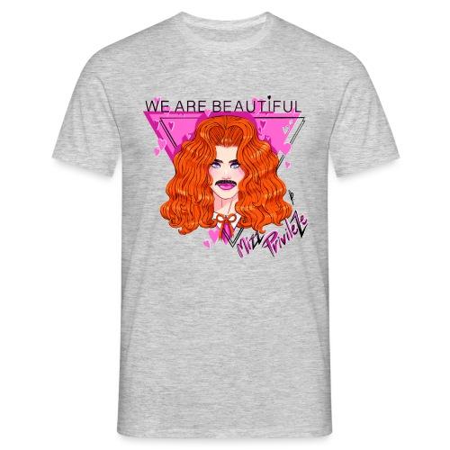 WE ARE BEAUTIFUL - Herre-T-shirt