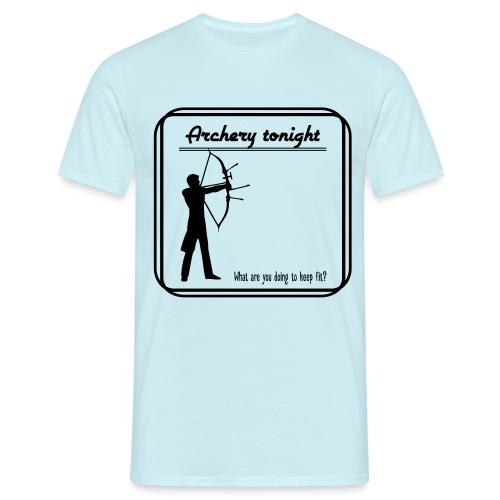 Archery tonight - Miesten t-paita