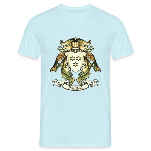 Christian Familiewapen - Mannen T-shirt