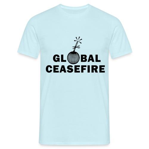 global ceasefire - Men's T-Shirt