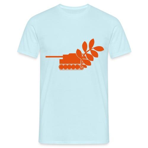 Global Campaign on Military Spending Logo v2 - Men's T-Shirt