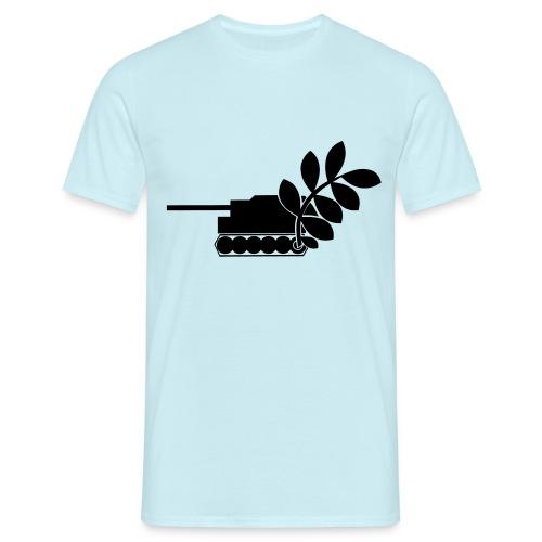 Global Campaign on Military Spending - Logo gray - Men's T-Shirt