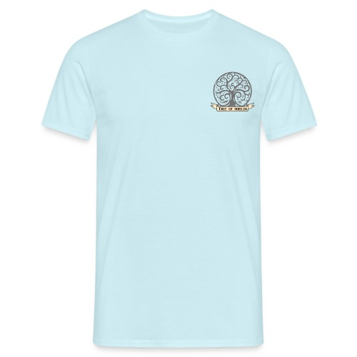 TOS grey tiny 3in png - Men's T-Shirt