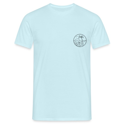 summer vibes - Camiseta hombre