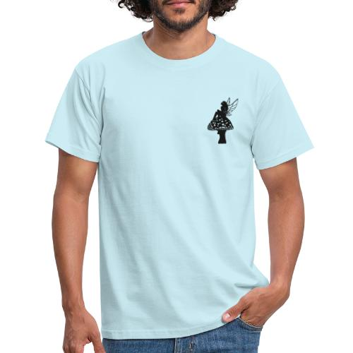 Silver fairy BLACK - Men's T-Shirt