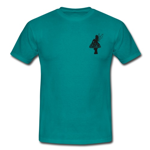 Silver fairy BLACK - Men's T-Shirt