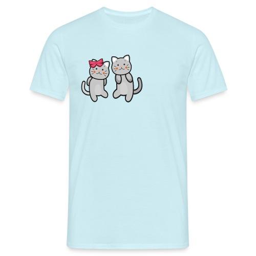 Kotki - Koszulka męska