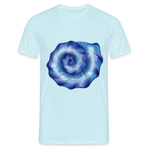 Galaktische Spiralenmuschel! - Männer T-Shirt