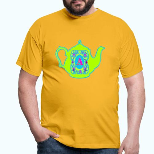 Wonders & Madness Tea Party - Men's T-Shirt