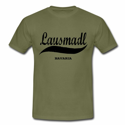 LAUSMADL BAVARIA - Männer T-Shirt