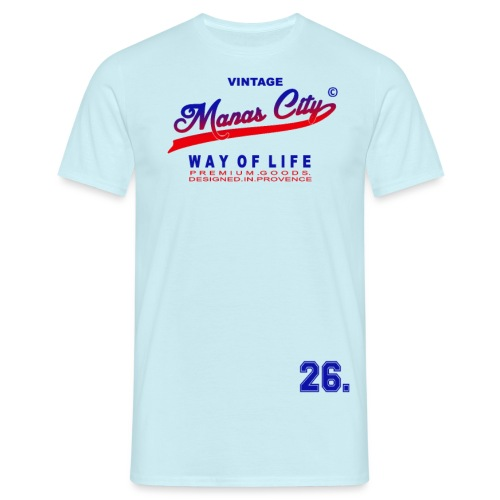 Manas City - T-shirt Homme