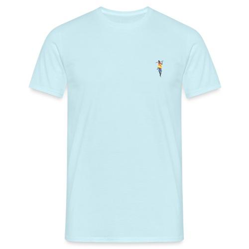 Color Stick Man - Herre-T-shirt