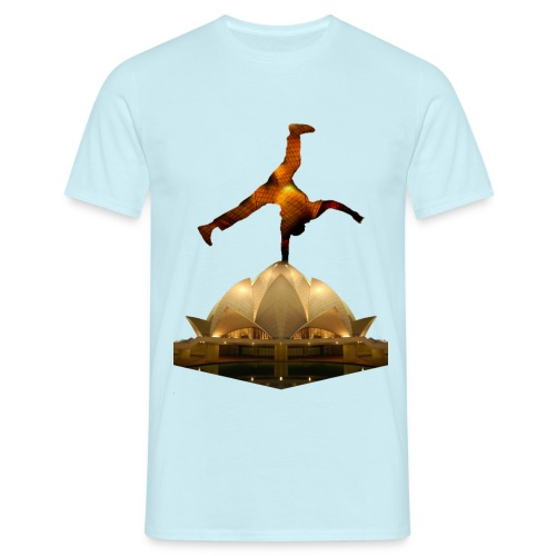 Lotus Break png - T-shirt Homme