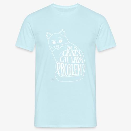 Crazy Cat Lady II - Miesten t-paita