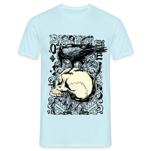Mr Crue Crow skull - T-shirt herr
