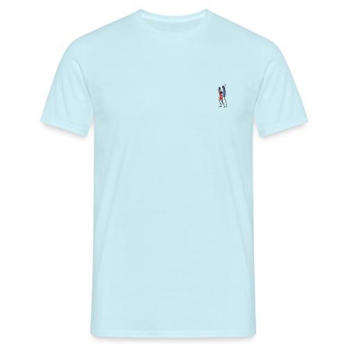 2 People Walking Isolated - Herre-T-shirt