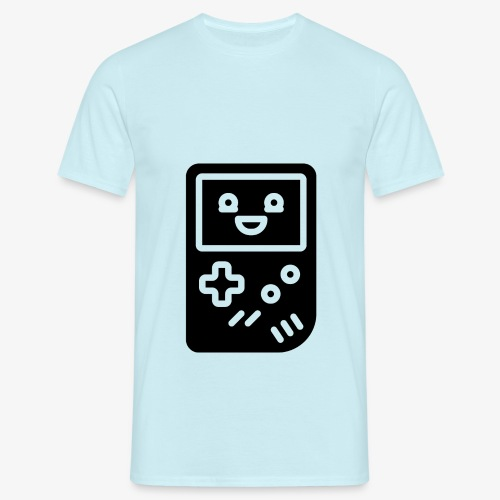 Smiling game console (black, inverted) - Men's T-Shirt