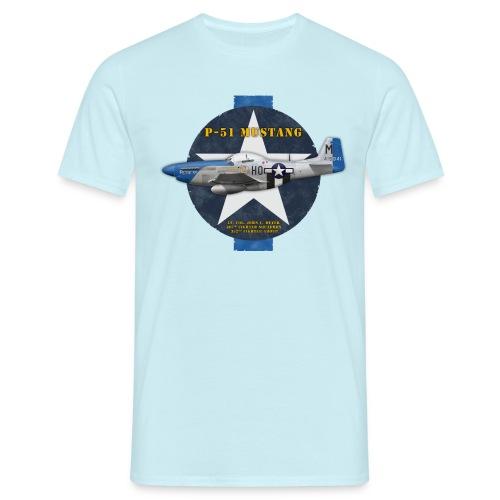 P-51D Mustang Petie 3rd - Men's T-Shirt