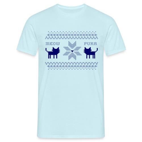 christmas navy - Camiseta hombre